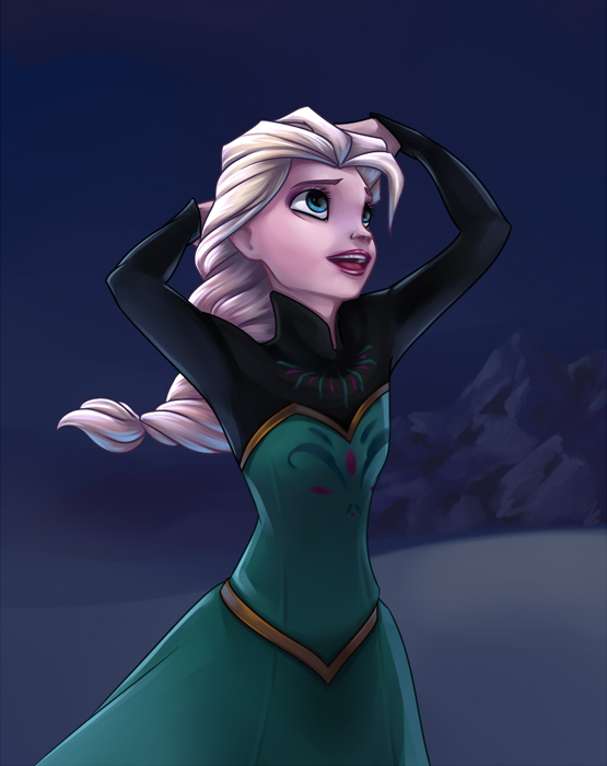 Elsa, Let It Go